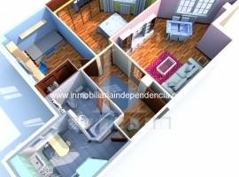 Piso seminuevo de 2 dormitorios con garaje en Bouzas