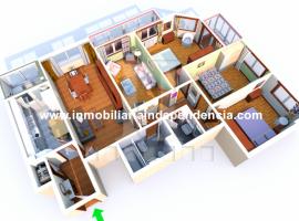 Piso de 4 dormitorios con garaje en zona Povisa