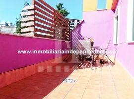 Ático con garaje y preciosa terraza en Sanjurjo Badía