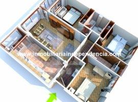 Piso de 3 dormitorios con garaje en C/ Barcelona