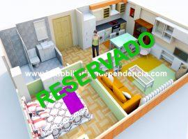 Apartamento amueblado en zona Camelias