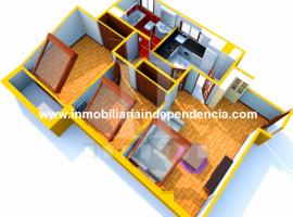 Ático de 2 dormitorios con garaje en Torrecedeira