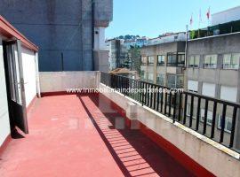 Piso y buhardilla con terraza en Tomás Alonso